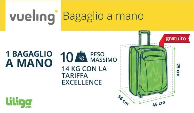 Bagaglio a mano Vueling  sono fiscali   96d38ab29c1